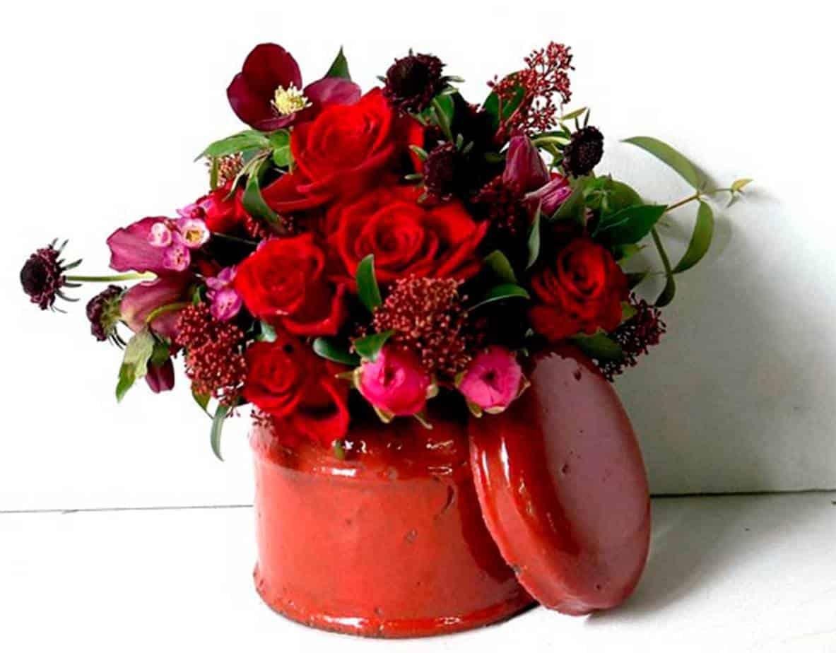 bloemen-rode-doos