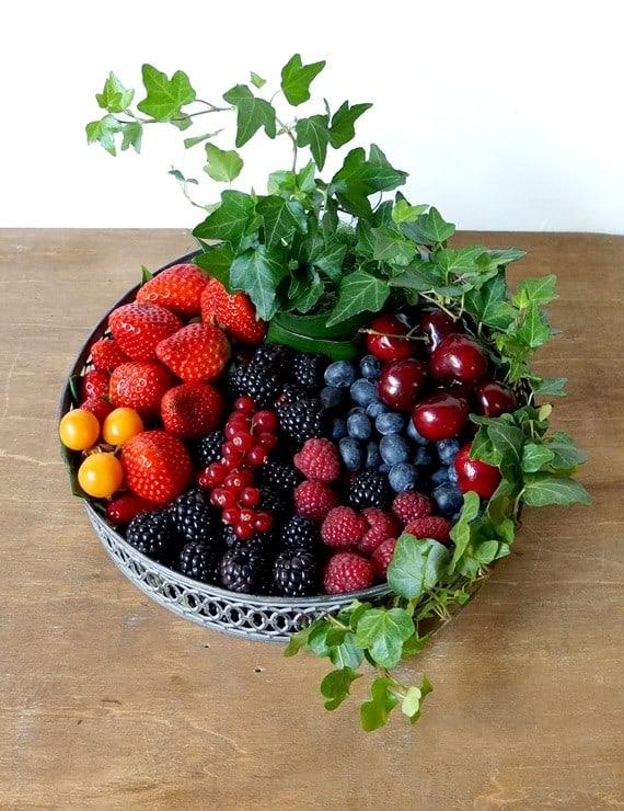 fruitmand geven