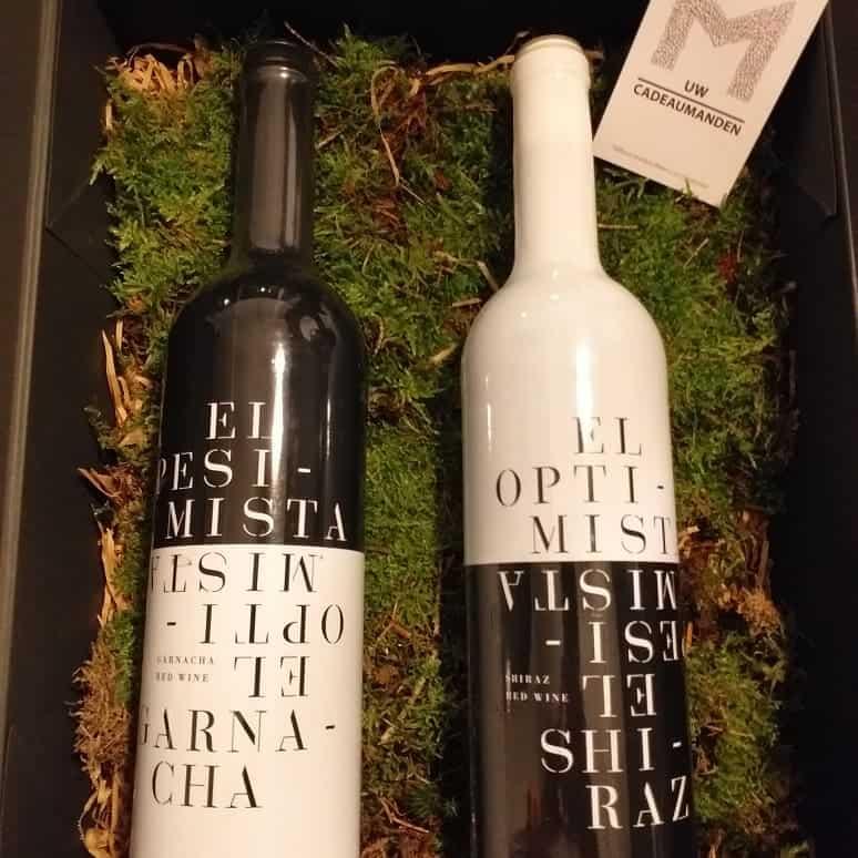 kerstpakketten cadeau wijnen