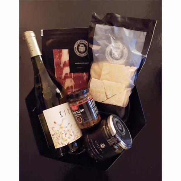Bites en Wijn borrelpakket
