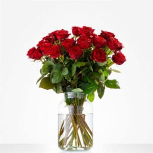 Liefde moet je vieren rozen 20 stucks