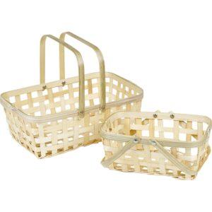 Kleine bamboe mandje kopen