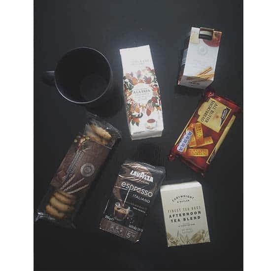Ontbijt op kantoor cadeau