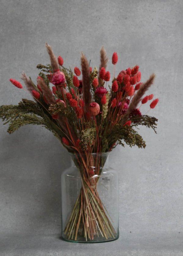 boeket-droogbloemen-rode kopen