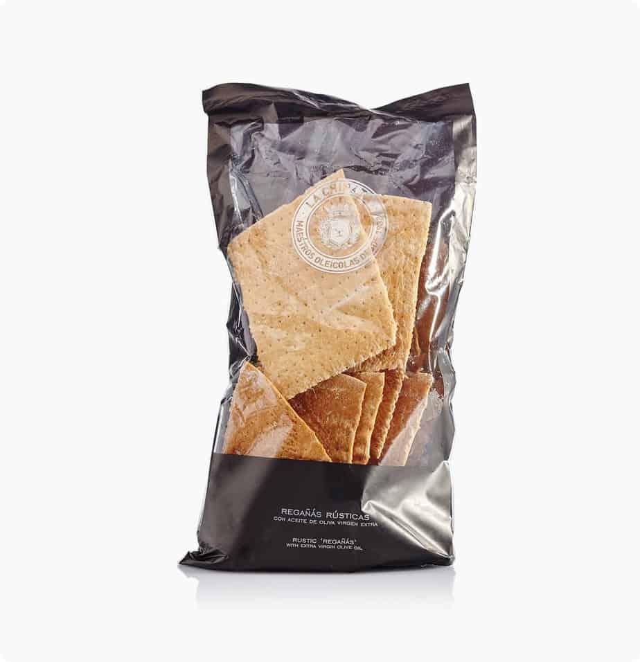crackers met olijfolie