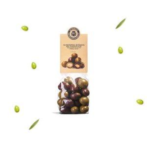 Chocolade met amandelen en olijfolie