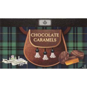 karameltoffees in pure chocolade